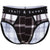 Black & White Plaid Brief