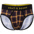 Multi Plaid Brief