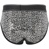 Limited Edition Silver Sequin Brief