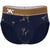 Martini Print Brief in Blue with Gold Foil