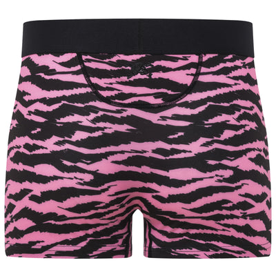 Tiger Print Trunk in Pink & Black