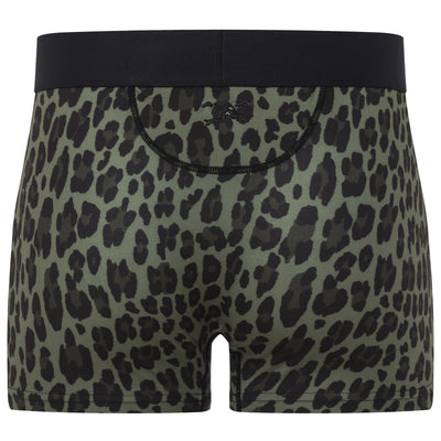 Leopard Print Trunk in Green