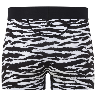 Tiger Print Trunk in Black & White