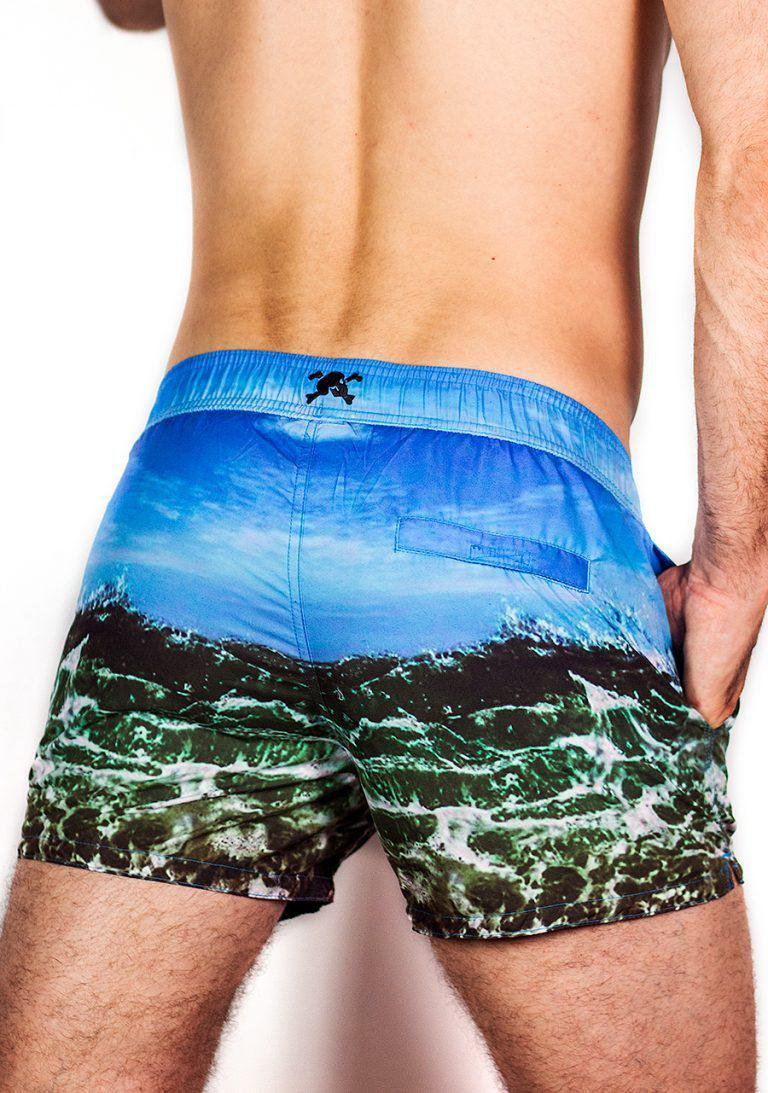 PHOTOREAL OCEAN SWIM SHORTS