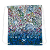 Carnival Toile  Drawstring Backpack