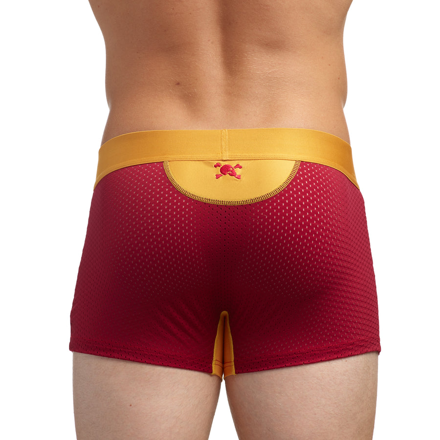 Performance Mesh Trunk Red