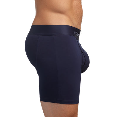 Just the Bones Boxer Brief Midnight
