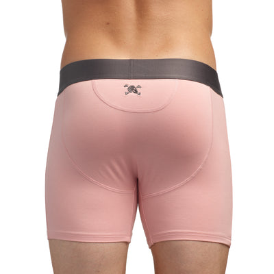 Just the Bones Boxer Brief Pink