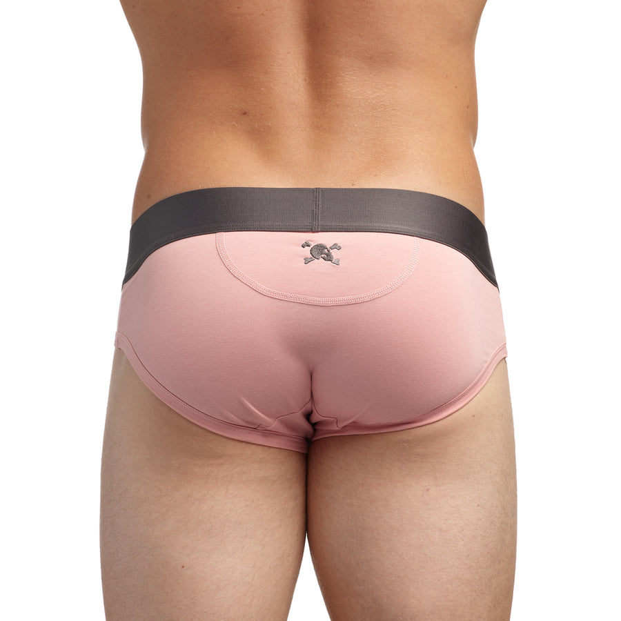 Just the Bones Brief Pink