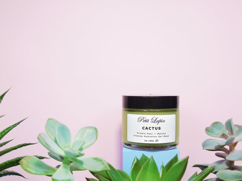 Prickly Pear Matcha Hydrating Gel Face Mask