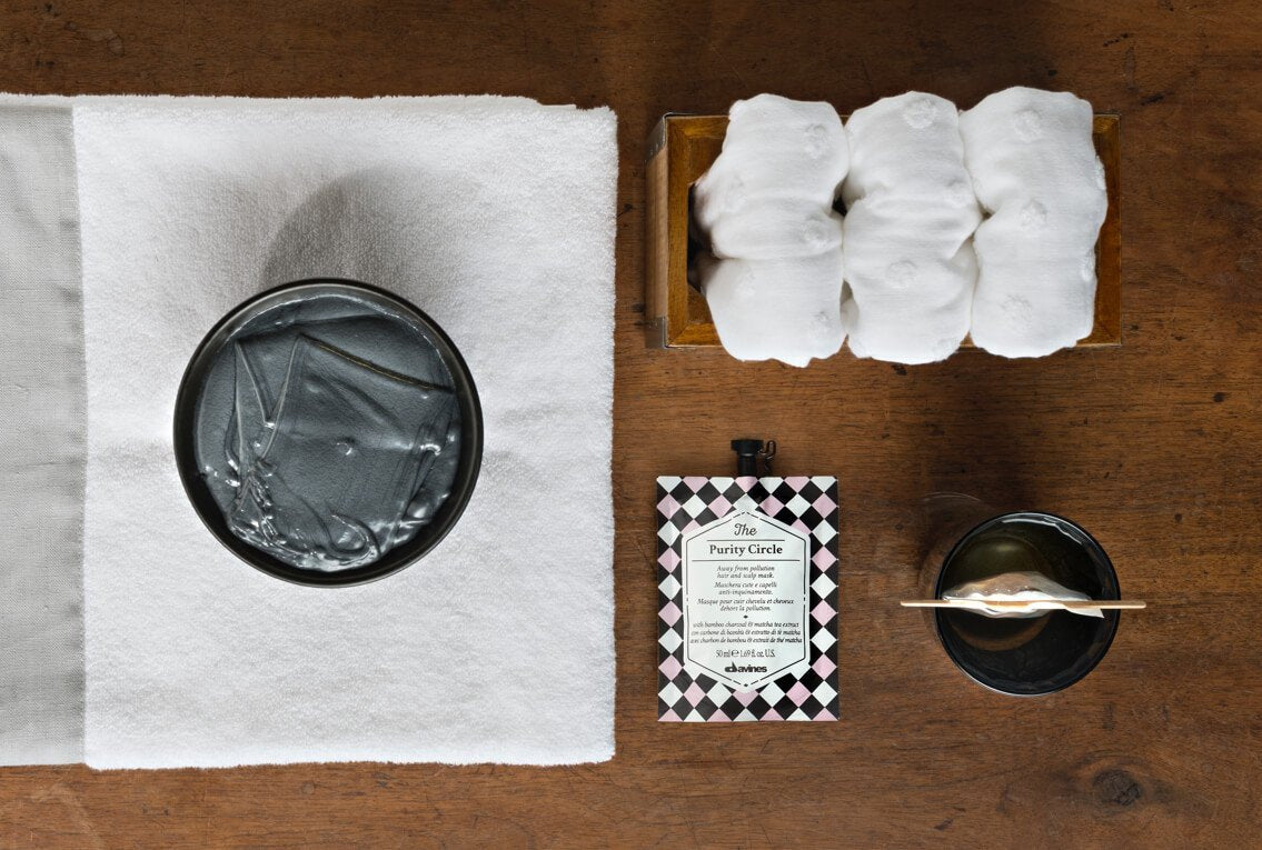 Davines The Purity Circle hair mask