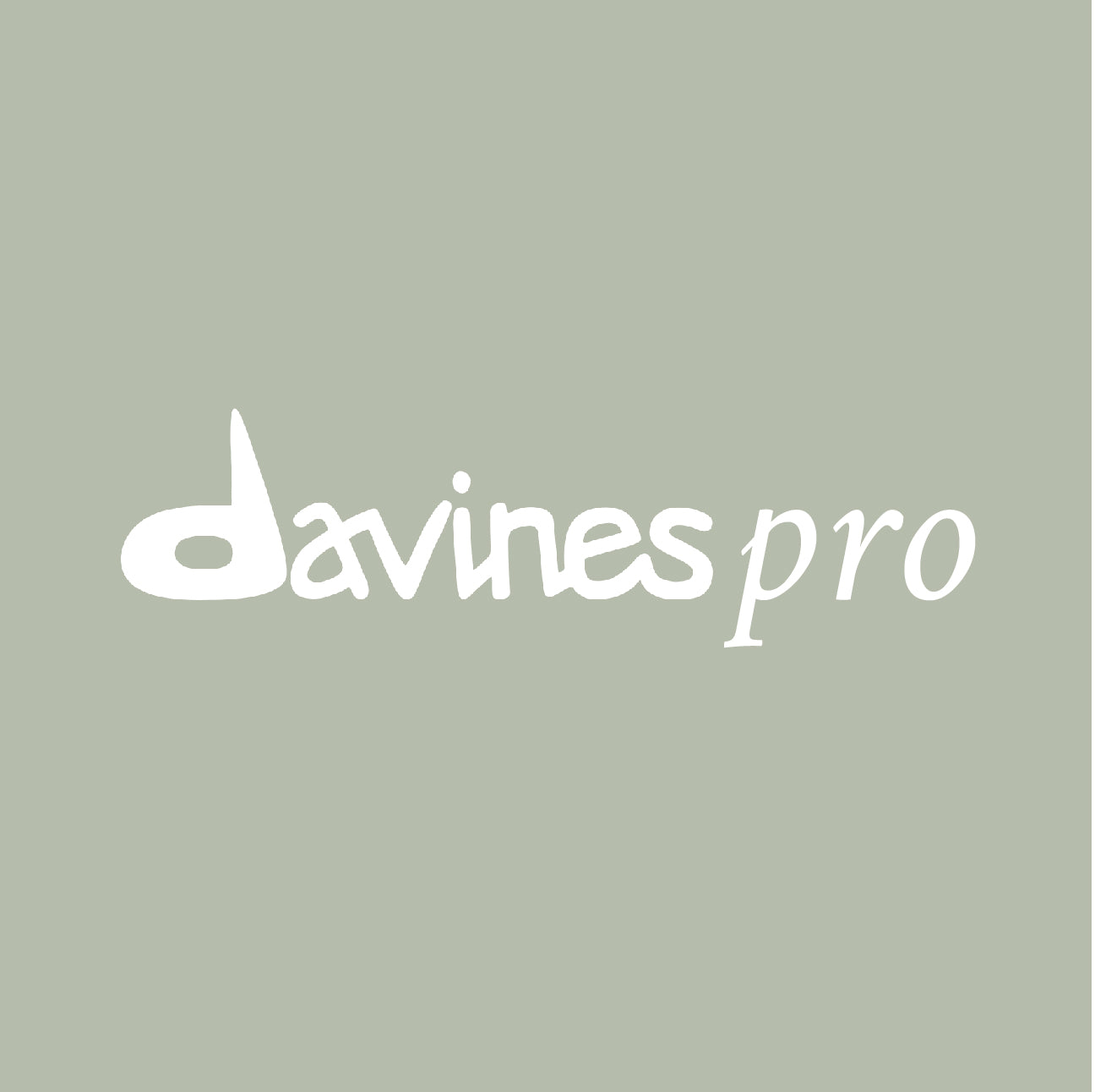 Visit our professional site DavinesPro