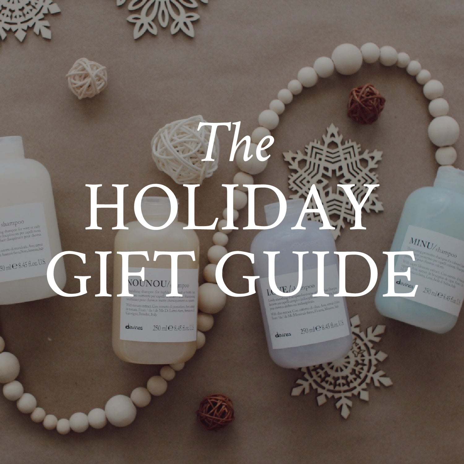 The Davines holiday gift guide