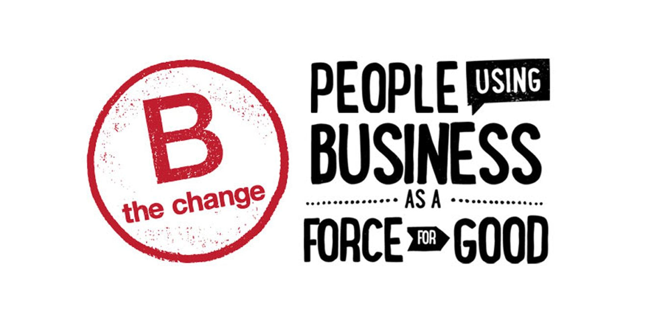 image with B Corporation text
