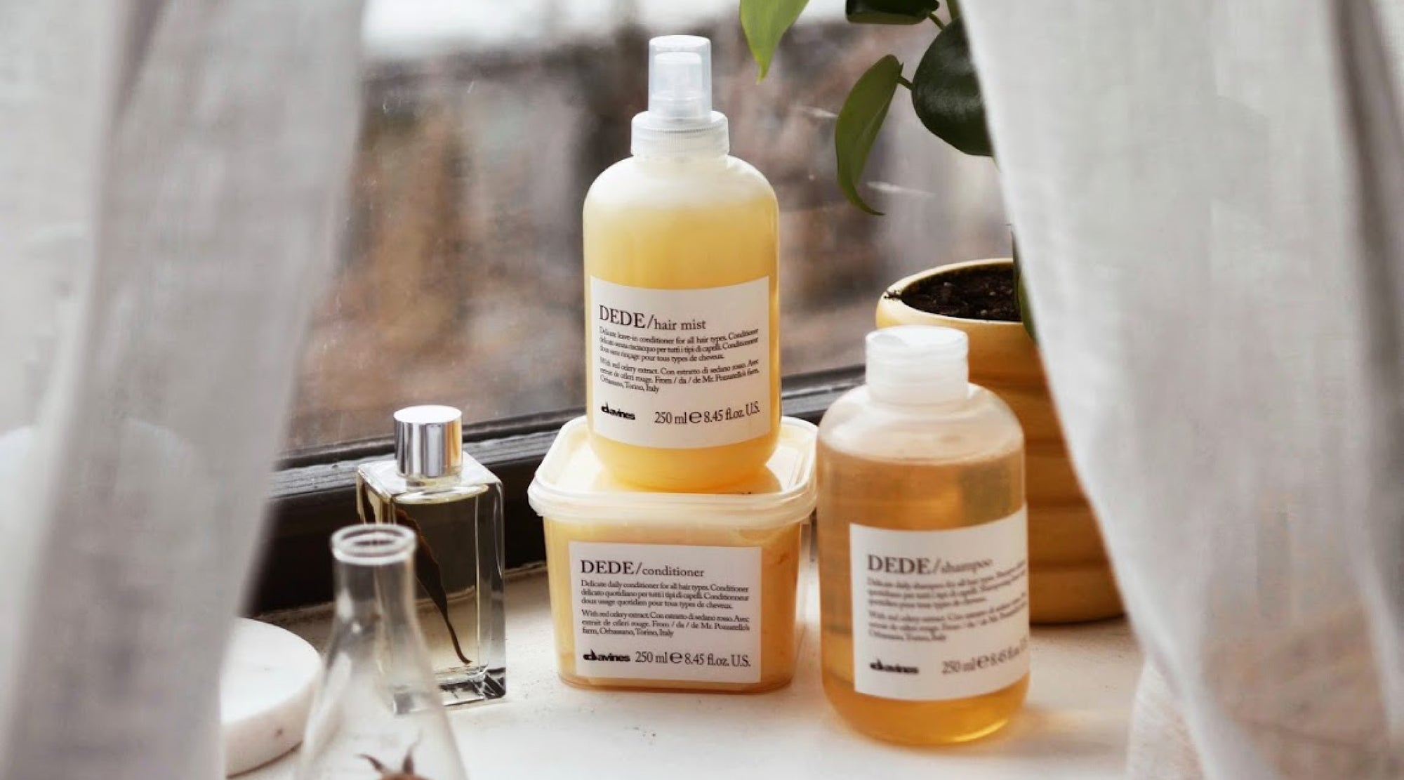 Essential Haircare DEDE family of products