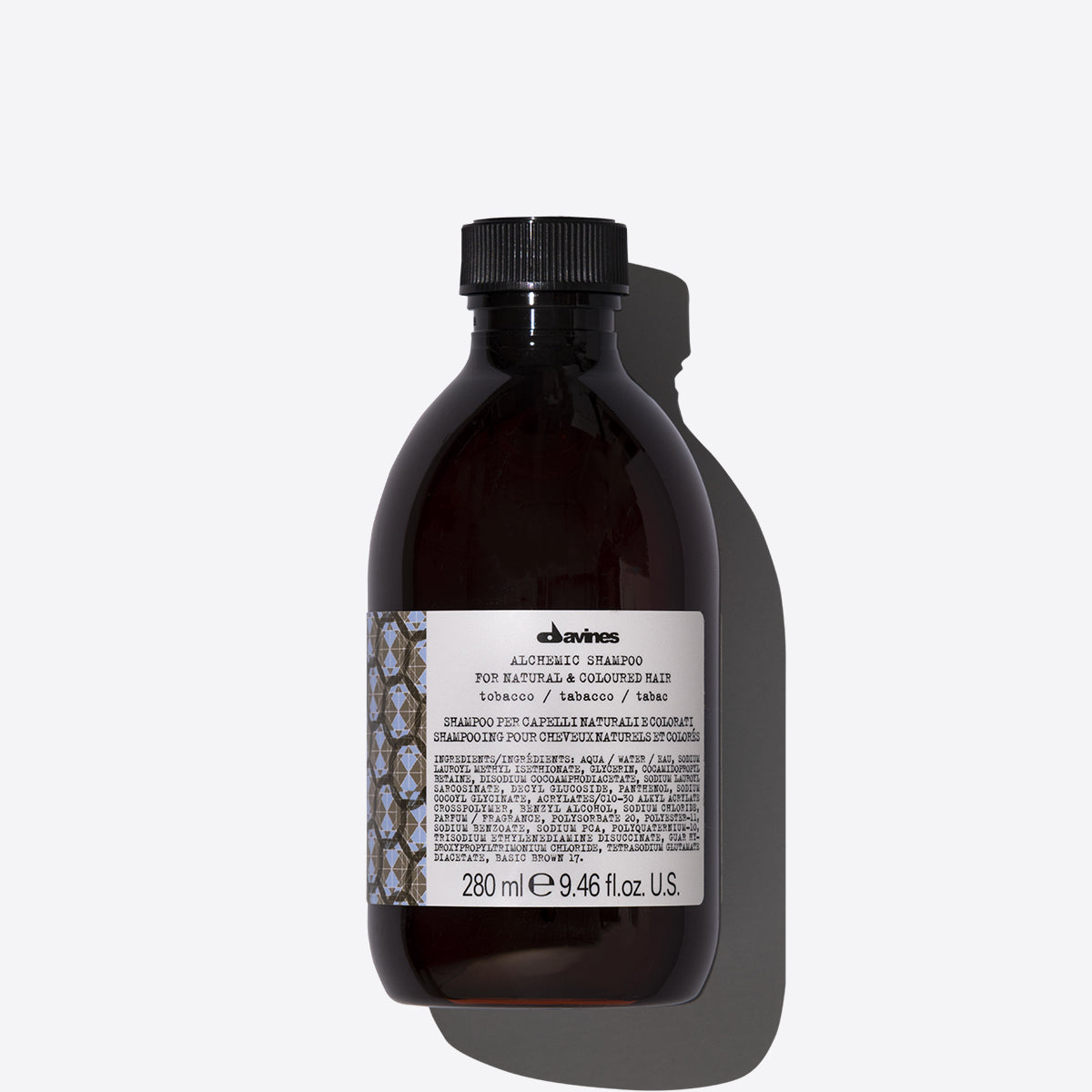 ALCHEMIC Shampoo Tobacco 1  280 ml / 9,47 fl.oz.Davines