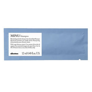 MINU Shampoo Sample 1  12 ml / ,41 fl.oz.Davines
