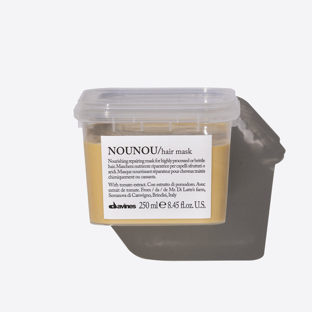 nounou hair repair mask container