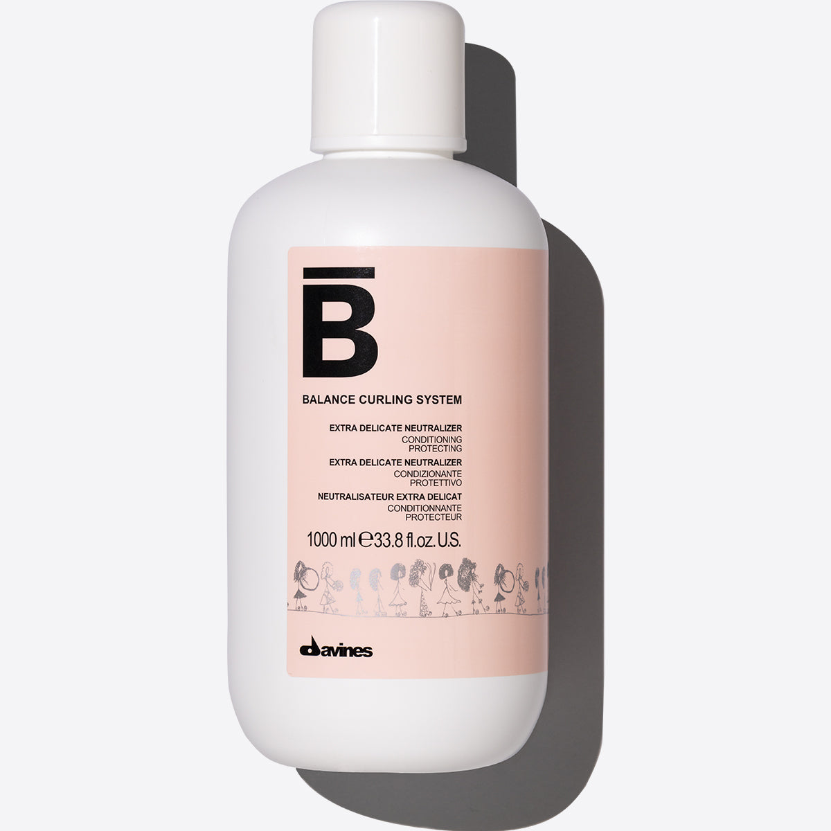 Extra Delicate Neutralizer 1  1000 ml / 33,81 fl.oz.Davines