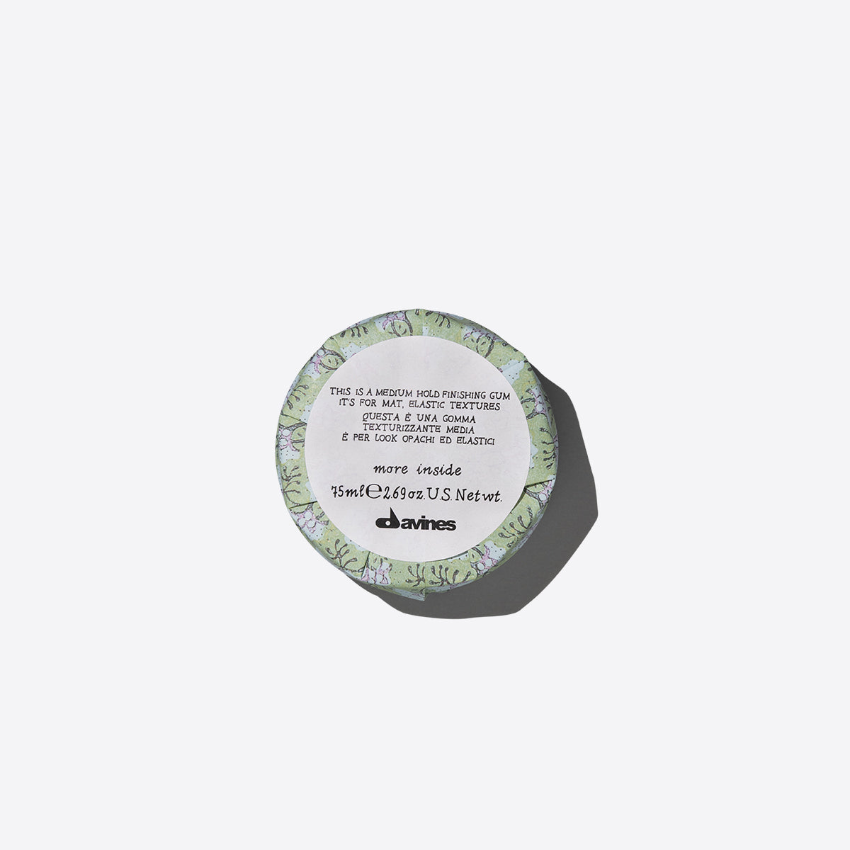This is a Medium Hold Finishing Gum 1  75 ml / 0 fl.oz.Davines