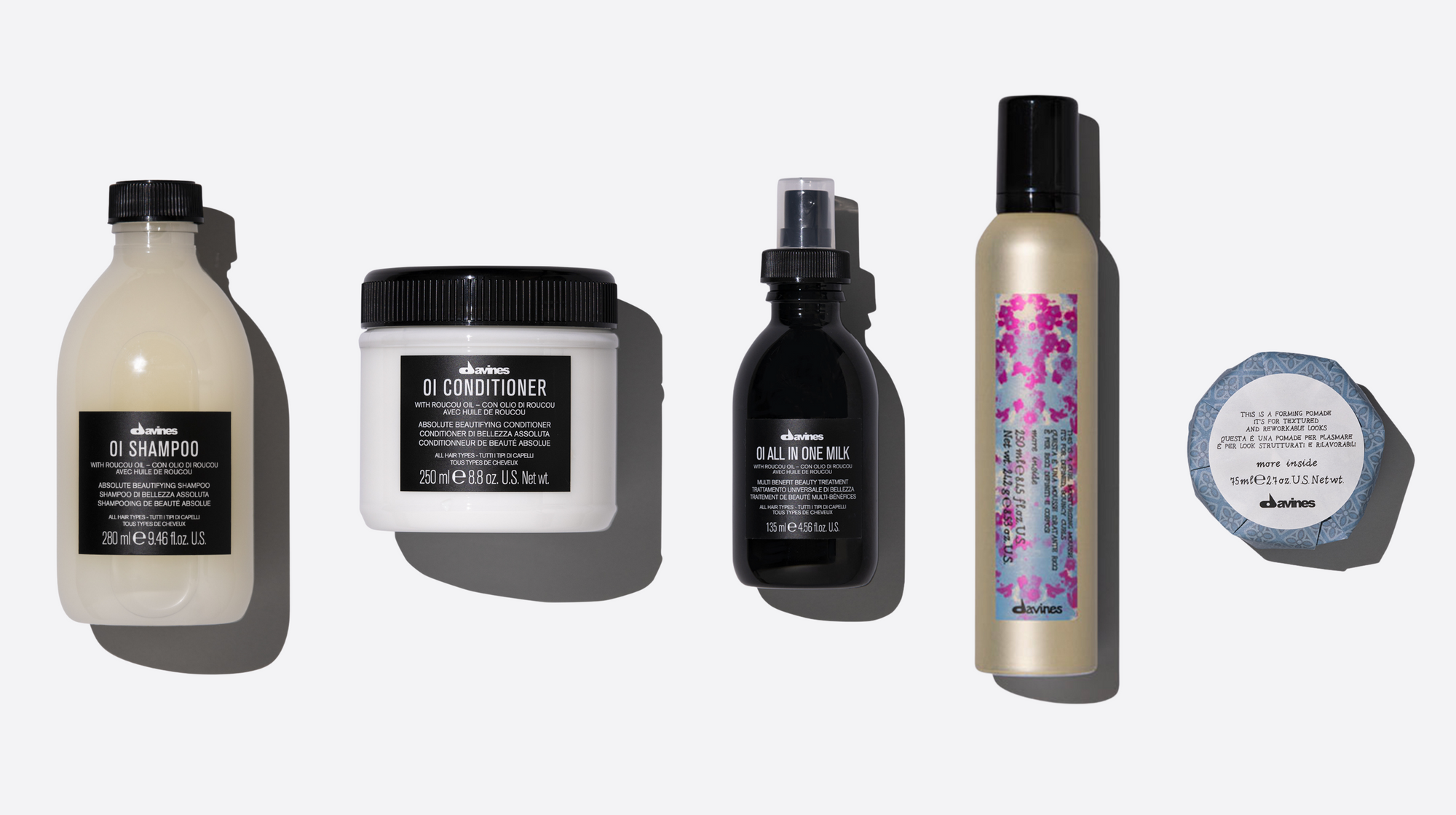 Short, Sleek & Smooth Styling Set 1  1 pz.Davines