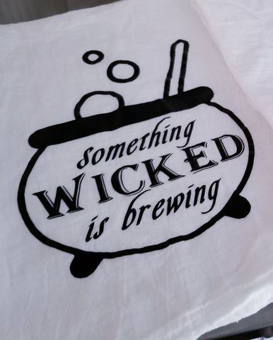 SALE! Wicked Brewing Tea Towel