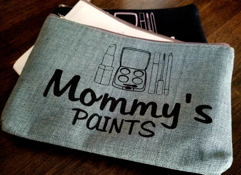 Mommy's Paints Cosmetic Bag
