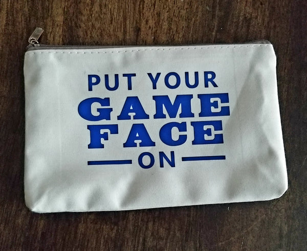 Game Face Cosmetic Bag