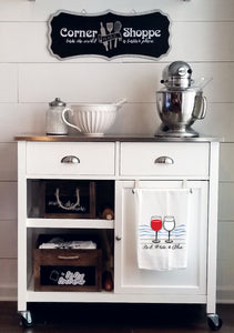SALE! American Wine Tea Towel
