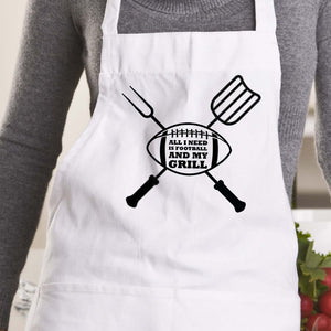 Football and Grill Apron