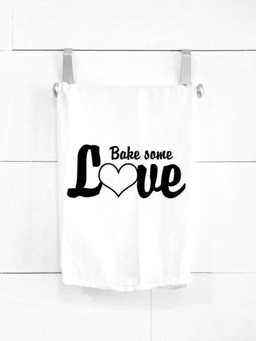 SALE! Bake Some Love Tea Towel