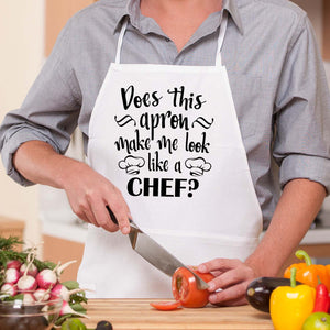 Does This Apron Make Me Look Like A Chef?