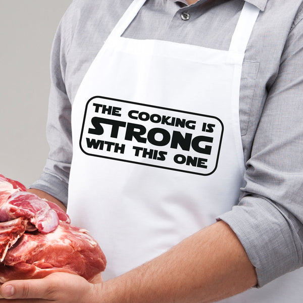 The Cooking is Strong with This One Apron