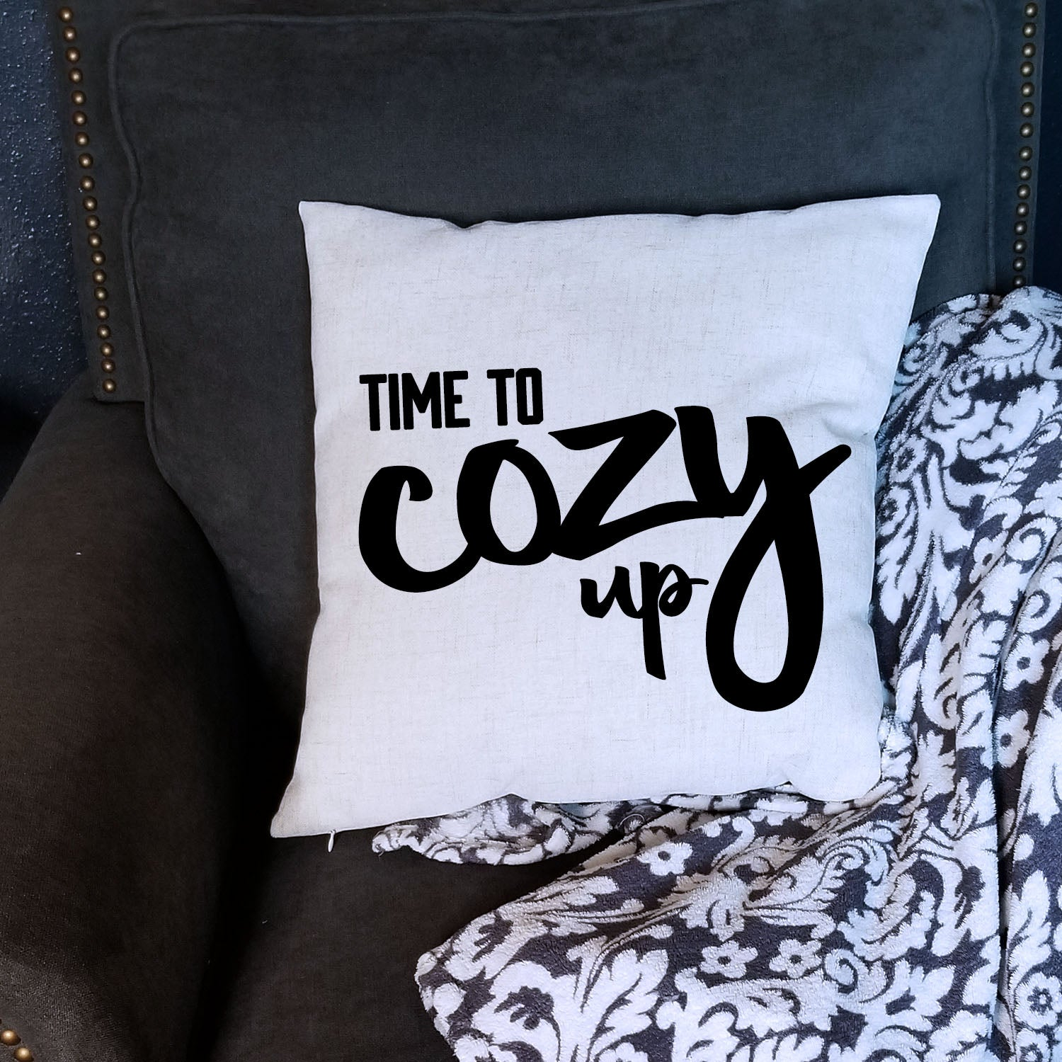 Cozy Up Pillow Cover