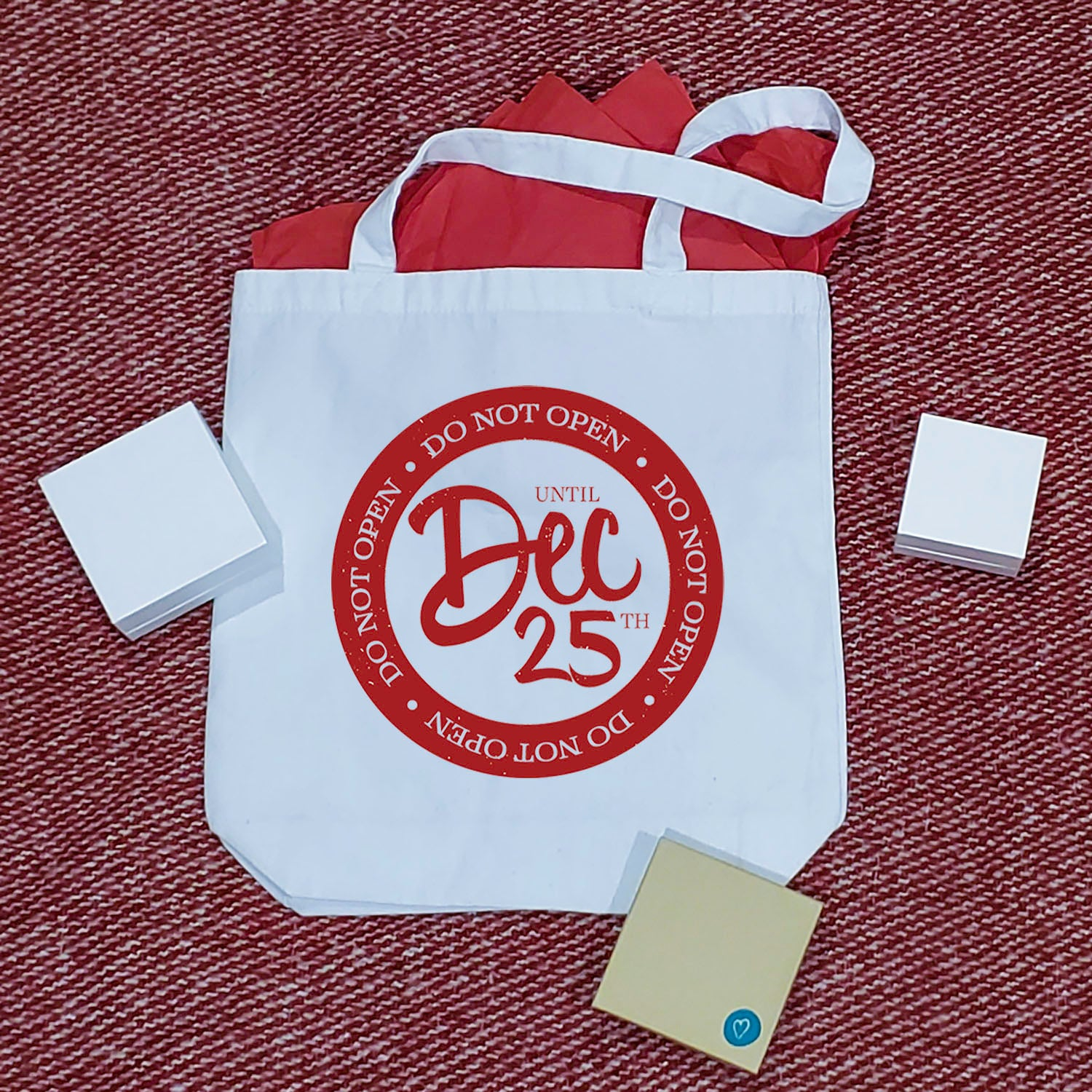 Do Not Open Until Dec 25 Tote Bag