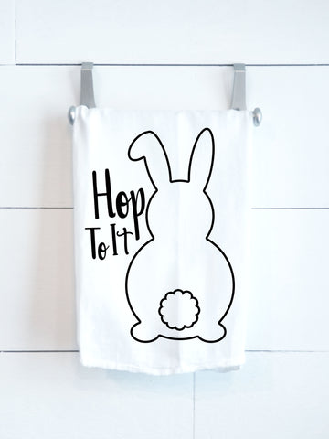 SALE! Hop To It Tea Towel