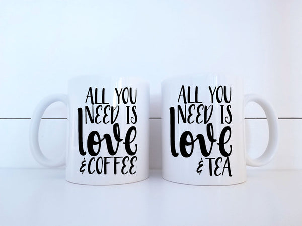Coffee and Tea Mug Set