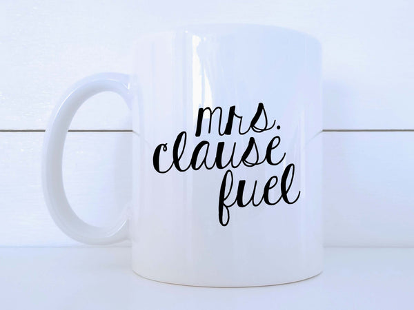 Mrs. Clause Fuel Mug