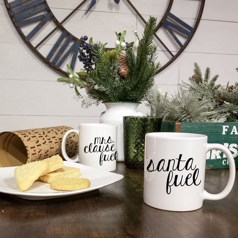 READY TO SHIP Santa Fuel Mug