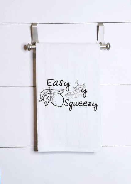 Easy Peasy Lemon Squeezy Tea Towel