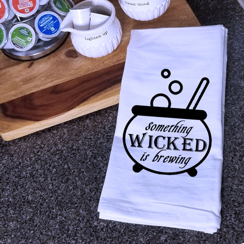 Wicked Brewing Tea Towel