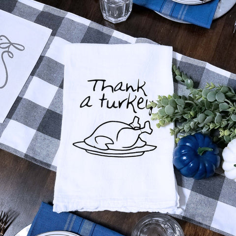 Thank a Turkey Tea Towel