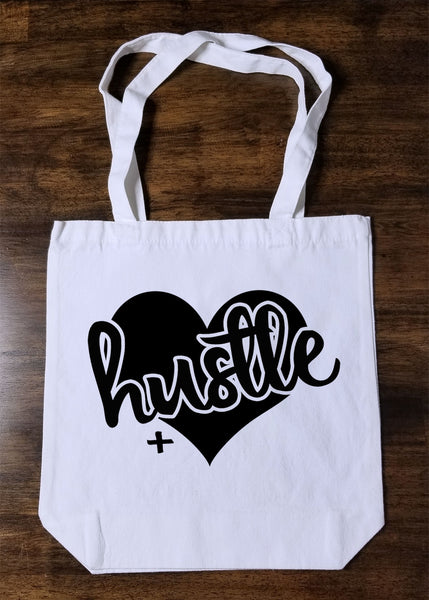 Hustle + Heart Tote Bag