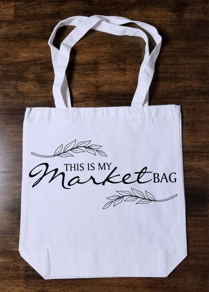 This is my Market Bag Tote Bag