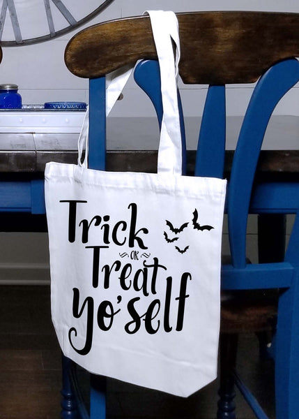 Trick or Treat Yo'self Tote Bag
