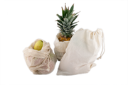 Mesh and Bread/Bulk Produce Bag Set