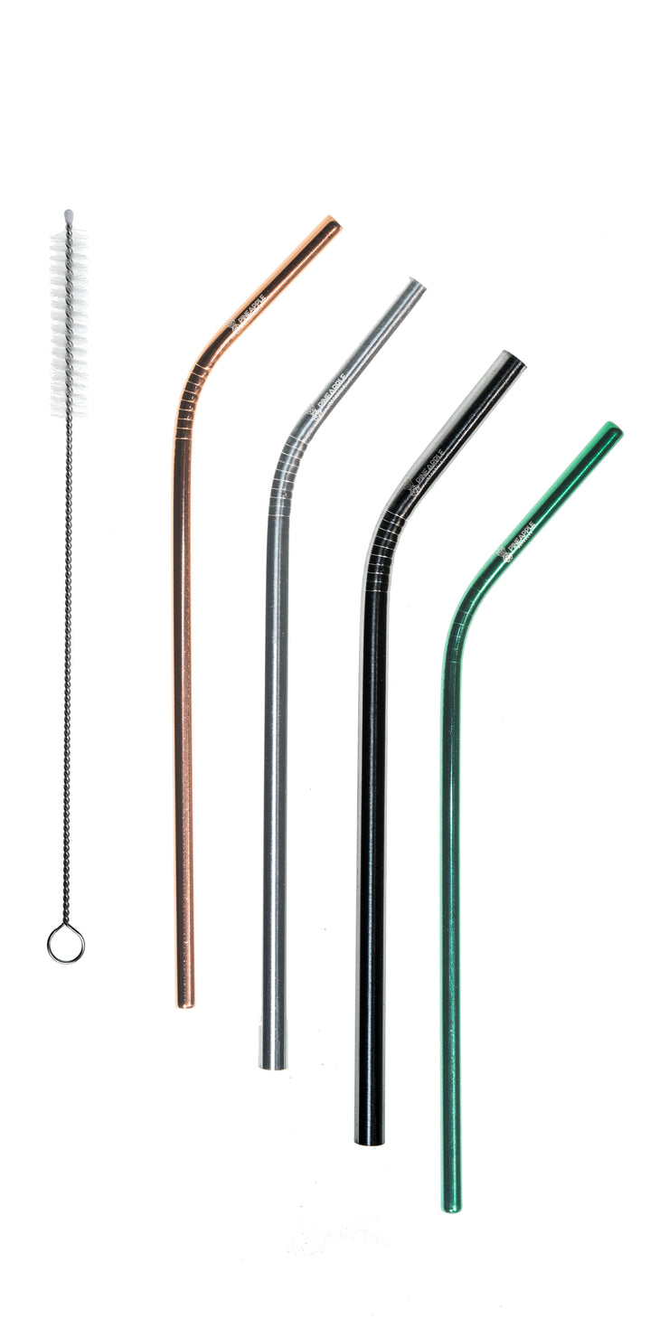 Custom Stainless Steel Reusable Eco Straws