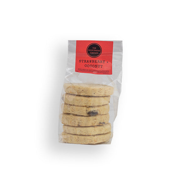Strawberry and Coconut Kitchen Cupboard Shortbread  - The Shortbread Company