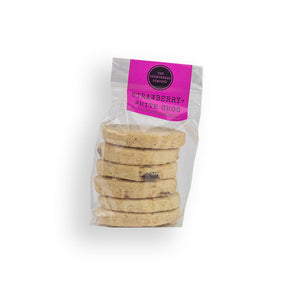 Strawberry and White Chocolate Kitchen Cupboard Shortbread  - The Shortbread Company