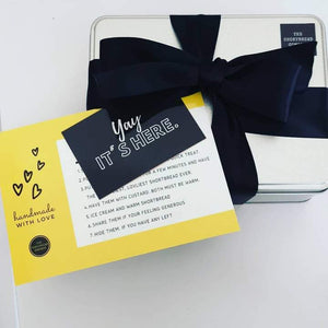 Luxury Shortbread Gift Tin  - The Shortbread Company